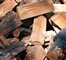firewood Sticker