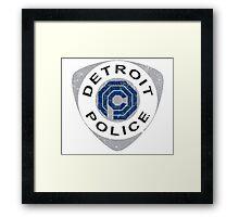 Detroit Police - Robocop Framed Print