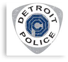 Detroit Police - Robocop Canvas Print
