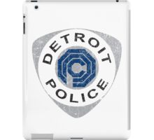 Detroit Police - Robocop iPad Case/Skin