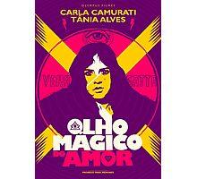 O Olho Magico do Amor Photographic Print