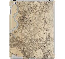 Vintage Map of Cambridge Massachusetts (1877) iPad Case/Skin