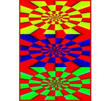 """ABSTRACT 3D"" Psychedelic Fun Print Photographic Print"