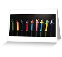 Pez Greeting Card