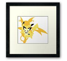Pokemon - Pikachu evolutions Framed Print