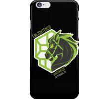 Enlightened Interitus Dark Horse Logo iPhone Case/Skin