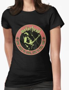 Motorhead (Born to lose) Vintage Womens Fitted T-Shirt
