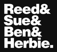 Reed&Sue&Ben&...Herbie! Kids Clothes