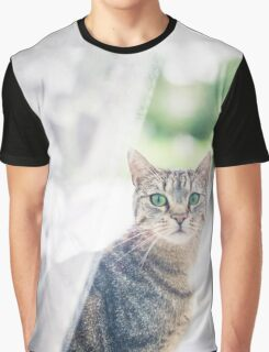 Green Eyes Graphic T-Shirt