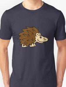 stehender süßer kleiner niedlicher igel  Unisex T-Shirt