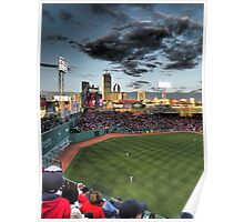 Dramatic Fenway Park Poster