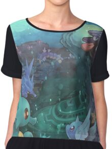 Pokémon - Water type Chiffon Top
