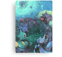 Pokémon - Water type Canvas Print