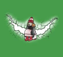 Amelia Pond And The Crack In The Wall One Piece - Short Sleeve