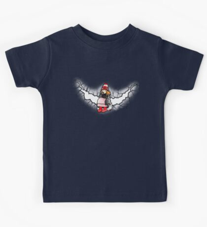 Amelia Pond And The Crack In The Wall Kids Tee