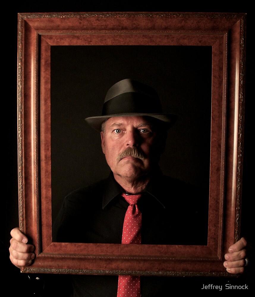 Portrait Of Self by Jeffrey  Sinnock