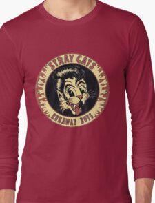 Stray Cats  (Runaway Boys) Vintage Long Sleeve T-Shirt