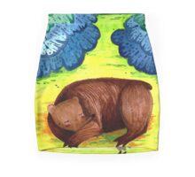 Sleeping Bear Mini Skirt