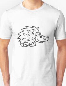stacheln baby comic cartoon süßer kleiner niedlicher igel  Unisex T-Shirt