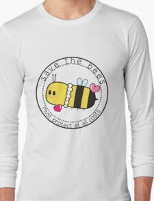 Save The Bees Long Sleeve T-Shirt