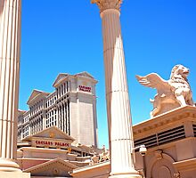 Caesars Palace in Las Vegas, Nevada by Buckwhite