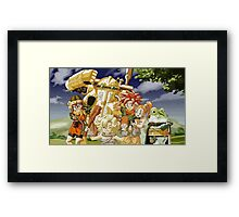Chrono Trigger Cast Framed Print