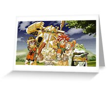 Chrono Trigger Cast Greeting Card
