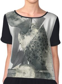 Fond Memories of Fine Wines and Sailing Ships Chiffon Top