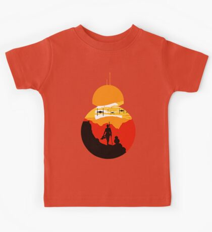 Star Wars VII - BB8 & Rey 2 Kids Tee