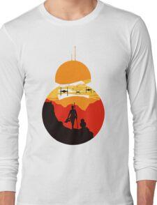 Star Wars VII - BB8 & Rey 2 Long Sleeve T-Shirt