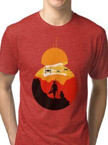 Star Wars VII - BB8 & Rey 2 Tri-blend T-Shirt