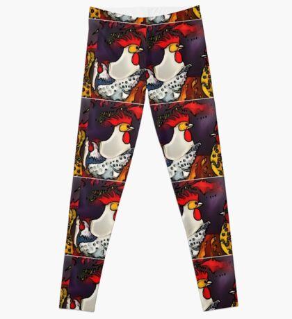 rooster gang Leggings