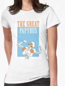 THE GREAT PAPYRUS Womens Fitted T-Shirt