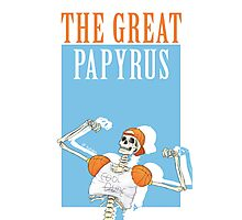 THE GREAT PAPYRUS Photographic Print