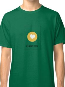I Love Kansas City Classic T-Shirt