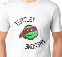 Turtley Awesome TMNT Cartoon Style Raph Unisex T-Shirt