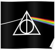 Deathly Hallows - Dark Side of The Moon Poster