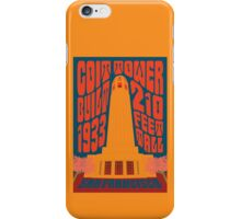 1960's Psychedelic San Francisco Coit Tower iPhone Case/Skin