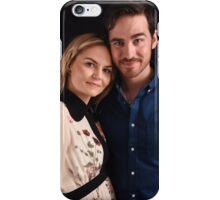 Emma and Killian - Captain Swan - Comic Con Poster iPhone Case/Skin
