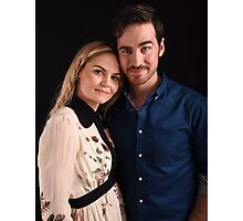 Emma and Killian - Captain Swan - Comic Con Poster Photographic Print