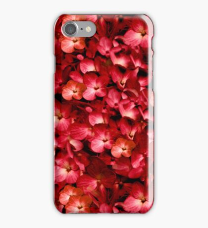 Warm Floral Collage Print iPhone Case/Skin