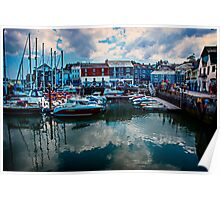 Padstow Harbour, Cornwall UK Poster
