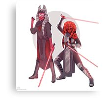 Sith Duo Canvas Print
