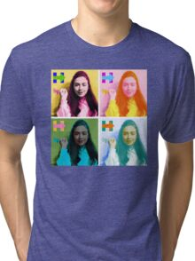 Hippie Hillary Tri-blend T-Shirt