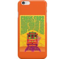 1960's Psychedelic San Francisco Cable Car iPhone Case/Skin