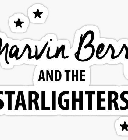 Marvin Berry & The Starlighters – BTTF, Marty McFly Sticker