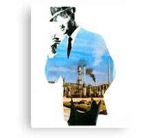 Mad men smokes Canvas Print