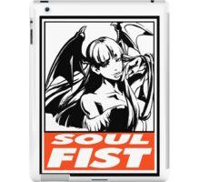 Morrigan Soul Fist Obey Design iPad Case/Skin