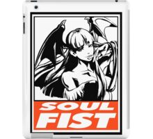 Morrigan Soul Fist Obey Design iPad Case/Skin