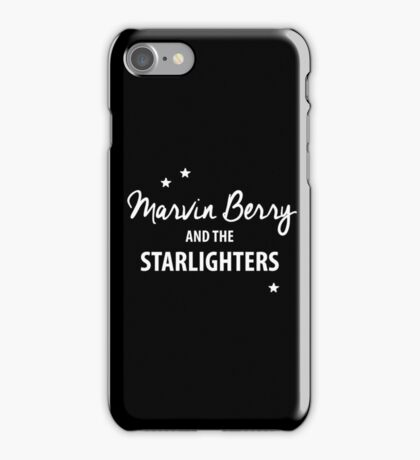 Marvin Berry & The Starlighters – BTTF, Marty McFly iPhone Case/Skin